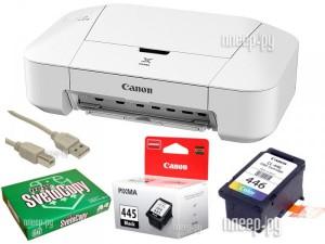 Купить Принтер Canon PIXMA iP2840 Выгодный набор + подарок серт. 200Р!!