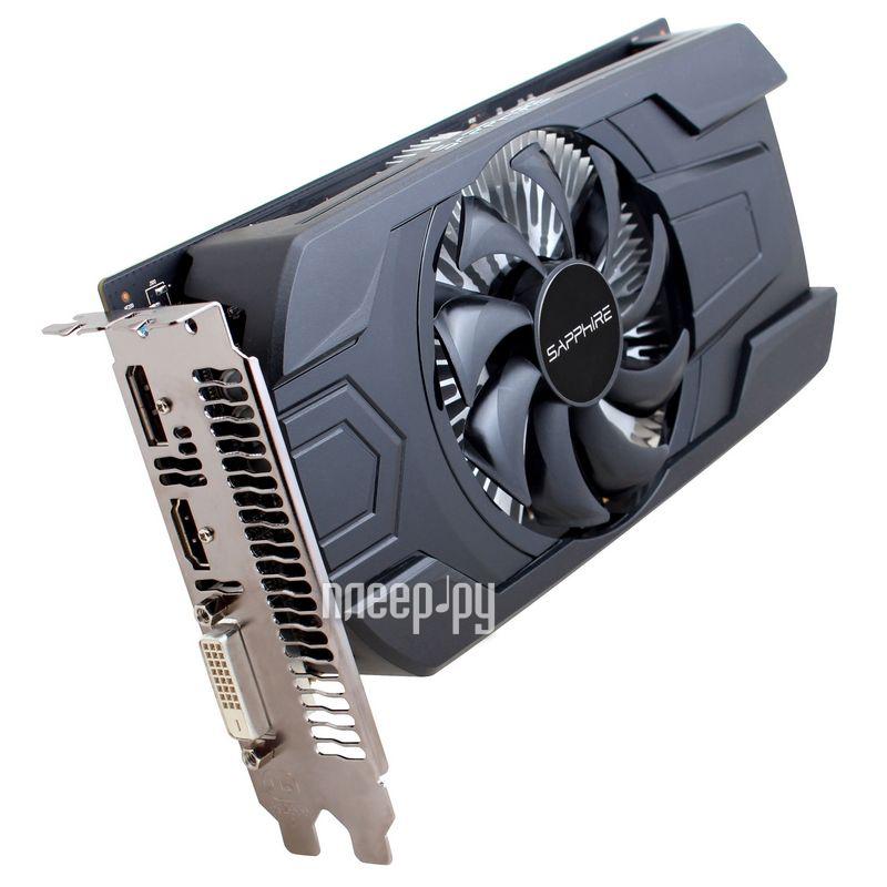 Видеокарта Sapphire Radeon RX 460 4G 1090Mhz PCI-E 3.0 4096Mb 7000Mhz 128 bit DVI HDMI 11257-11-20G