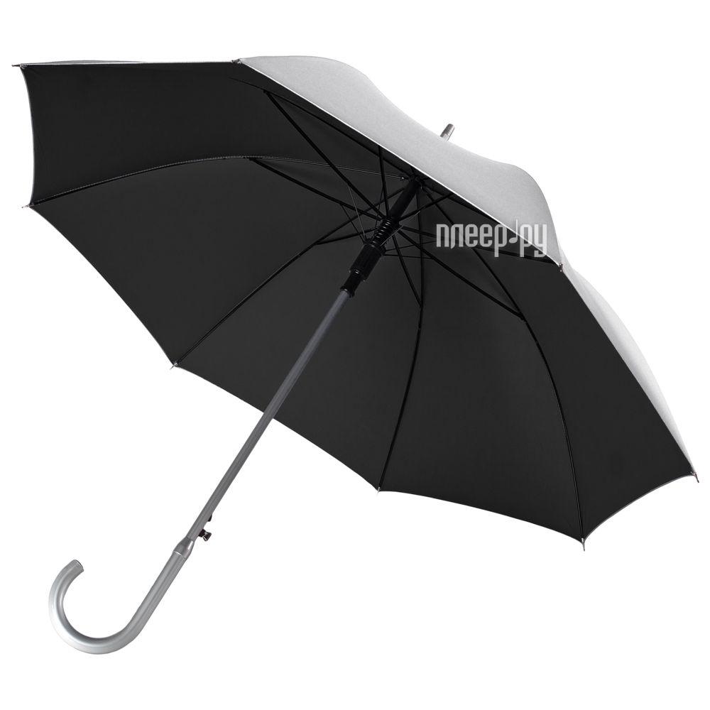 Зонт UNIT Трость Silver Black