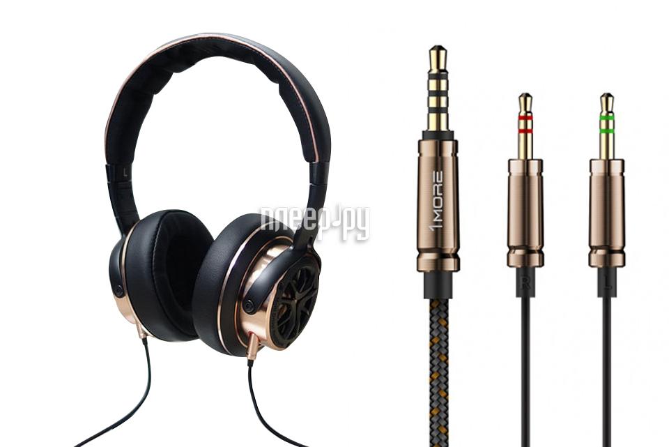 Наушники Xiaomi H1707 1More Triple Driver Over-Ear Headphones Black