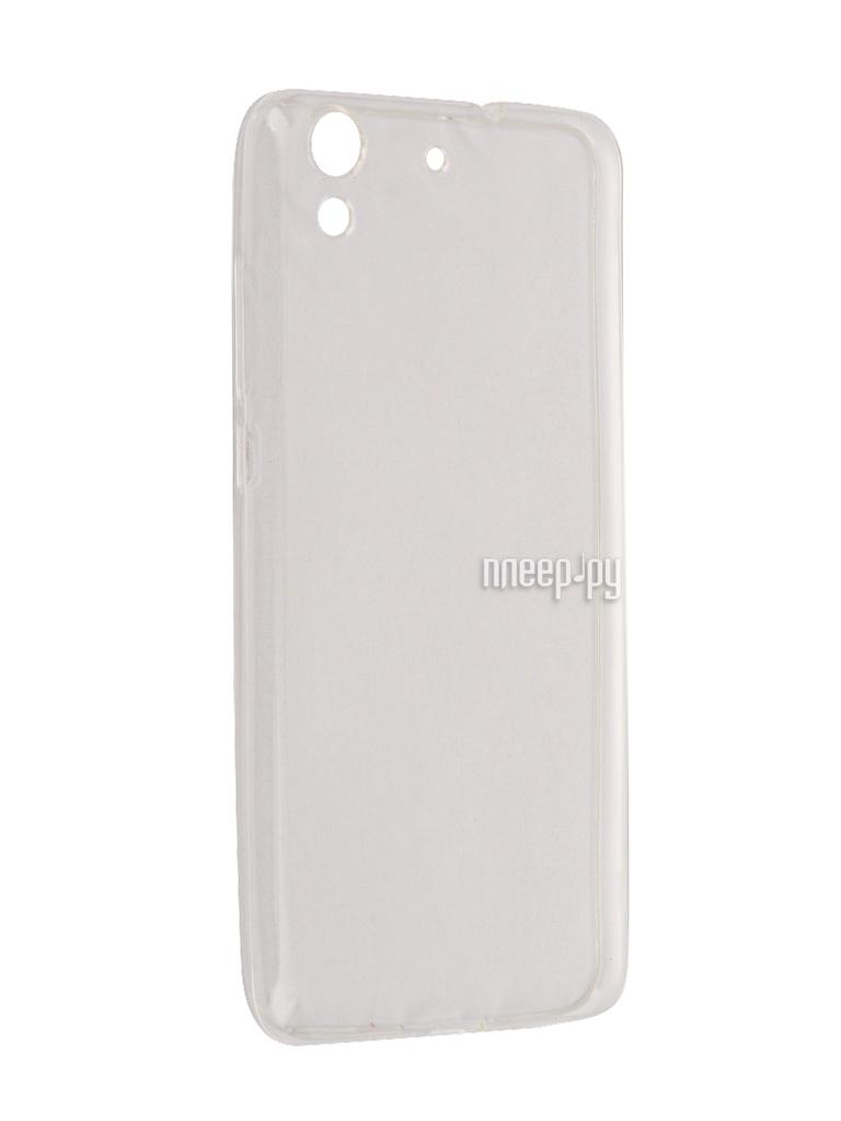 Аксессуар Чехол Huawei Honor 5A Aksberry Silicone Transparent 0.33mm