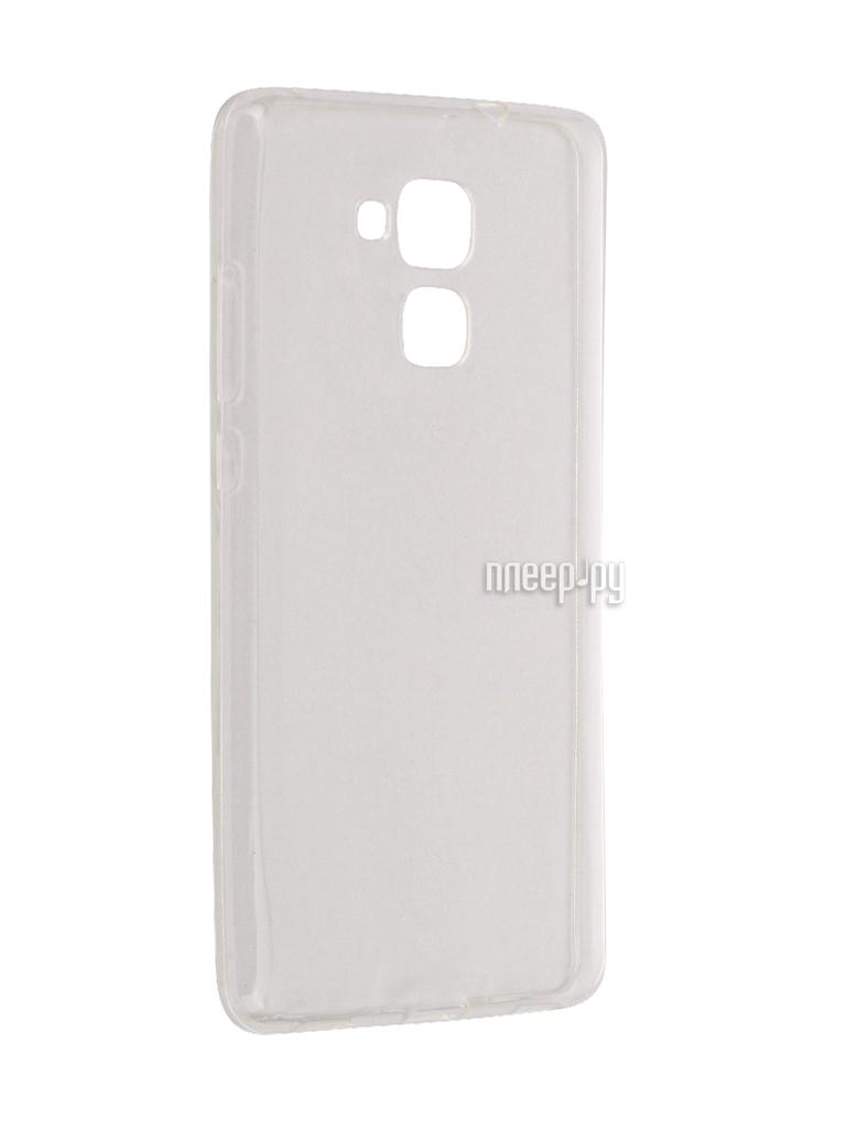 Аксессуар Чехол Huawei Honor 5C Aksberry Silicone Transparent 0.33mm