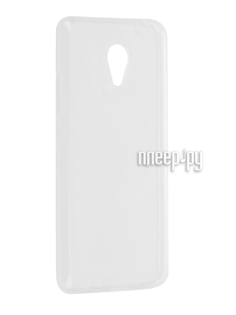 Аксессуар Чехол Meizu M3S Mini Aksberry Silicone Transparent 0.33mm