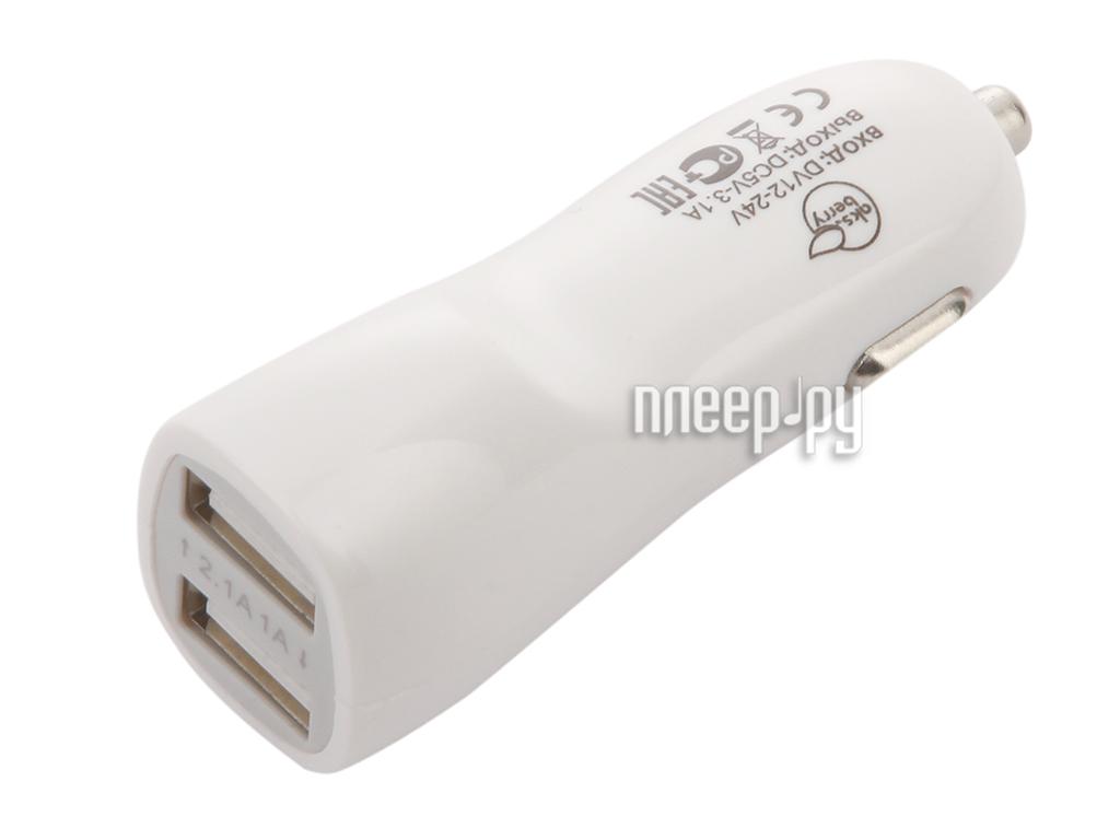 Зарядное устройство Aksberry 2xUSB 2.1A автомобильное