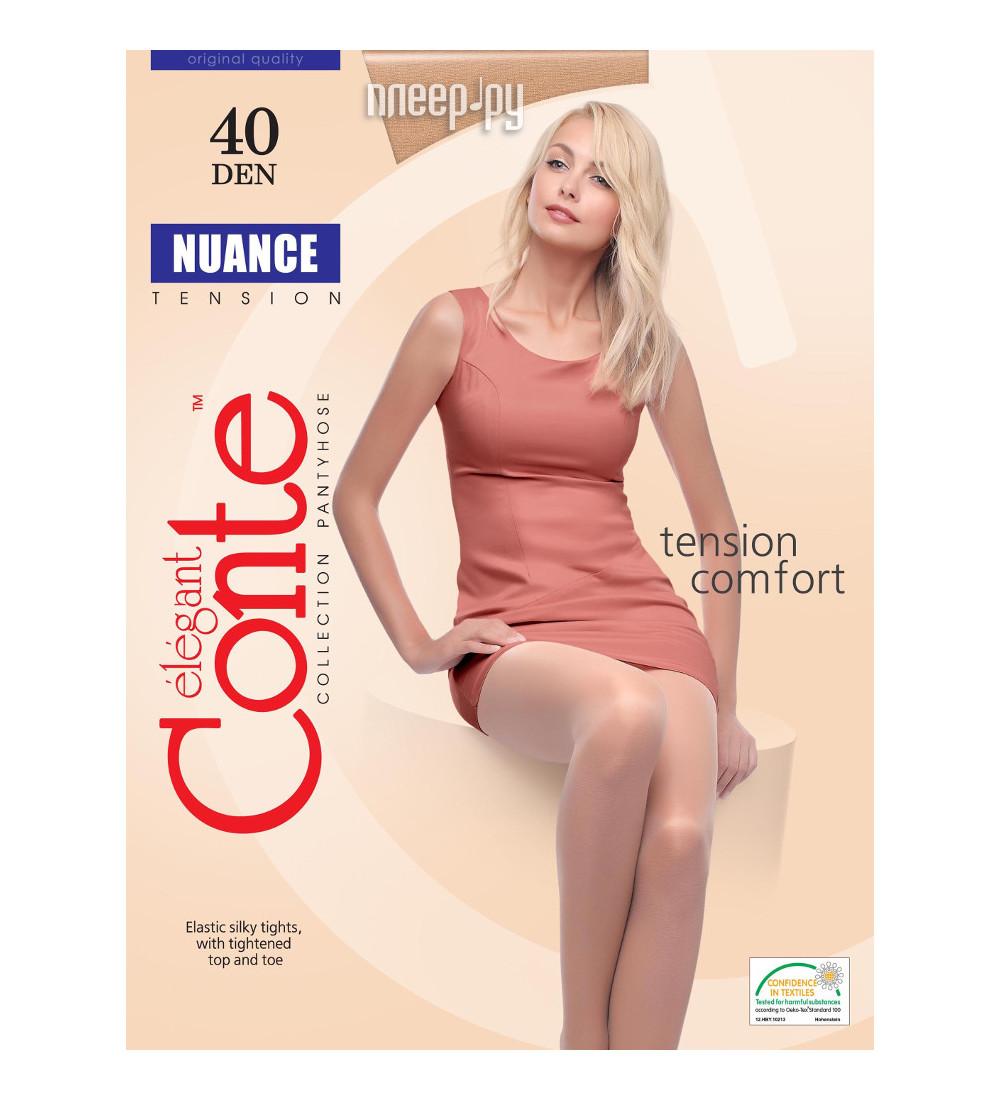 Колготки Conte Nuance размер 3 плотность 40 Den Bronzo за 163 рублей