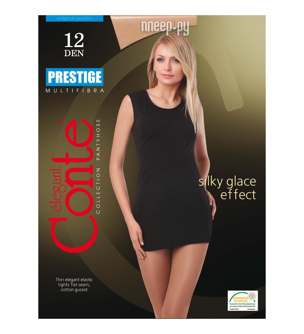 Колготки Conte Prestige размер 2 плотность 12 Den Naturel