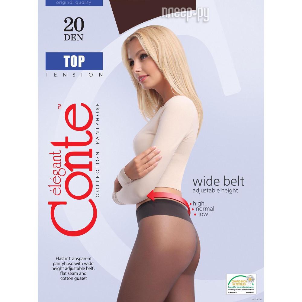 Колготки Conte Top размер 3 плотность 20 Den Bronzo