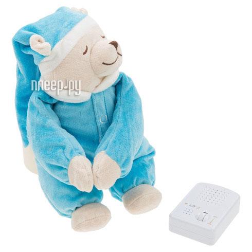 Игрушка Doodoo Babiage Мишка с ночником Blue