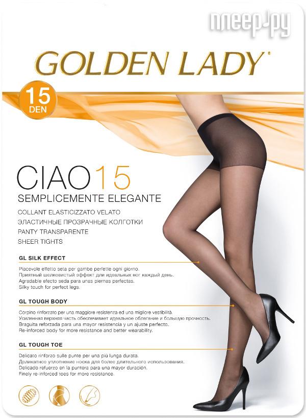 Колготки Golden Lady Ciao размер 2 плотность 15 Den Nero