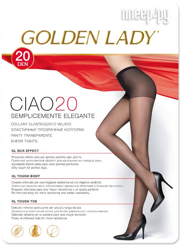 Колготки Golden Lady Ciao размер 4 плотность 20 Den Nero
