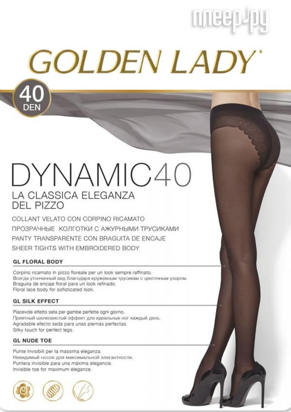 Колготки Golden Lady Dinamic размер 3 плотность 40 Den Nero
