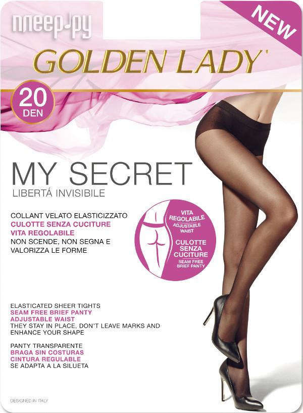 Колготки Golden Lady My Secret размер 2 плотность 20 Den Melon