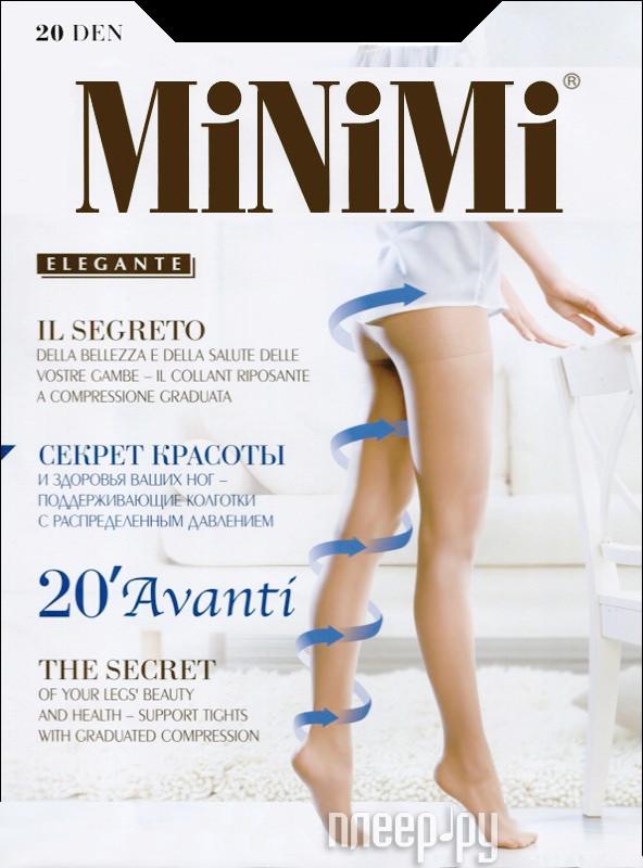 Колготки MiNiMi Avanti размер 4 плотность 20 Den Nero