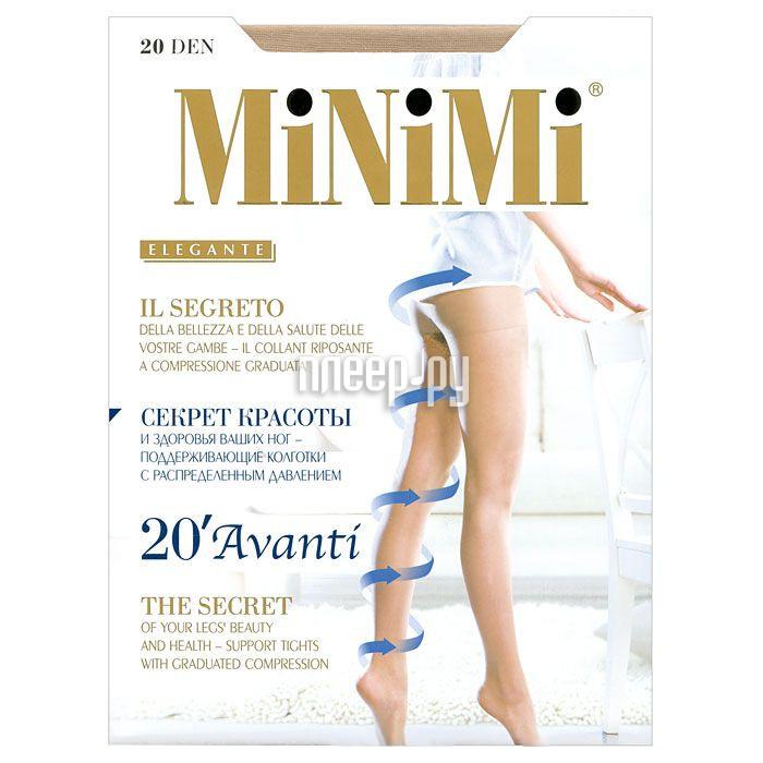 Колготки MiNiMi Avanti размер 2 плотность 20 Den Caramello за 162 рублей