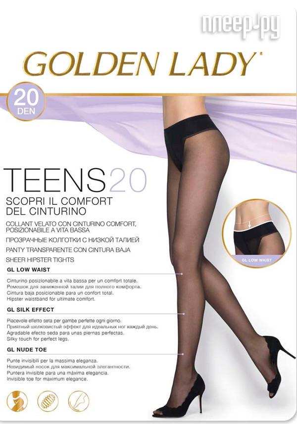 Колготки Golden Lady Teens Vita размер 2 плотность 20 Den Bassa Nero купить