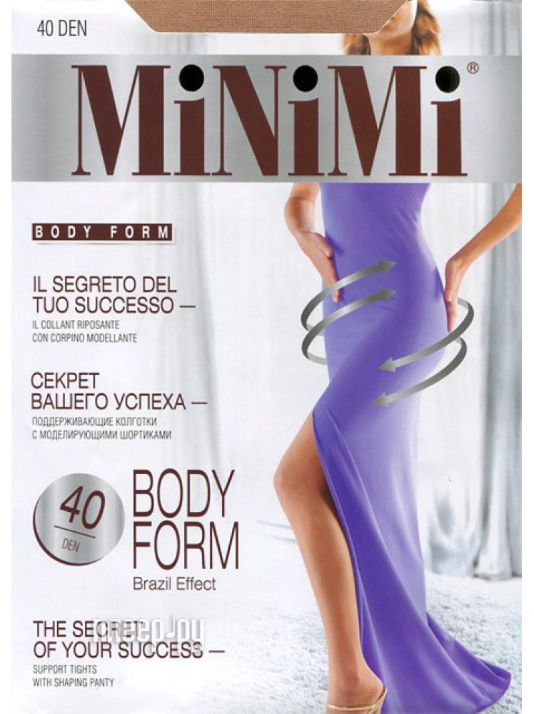 Колготки MiNiMi Body Form размер 4 плотность 40 Den Caramello