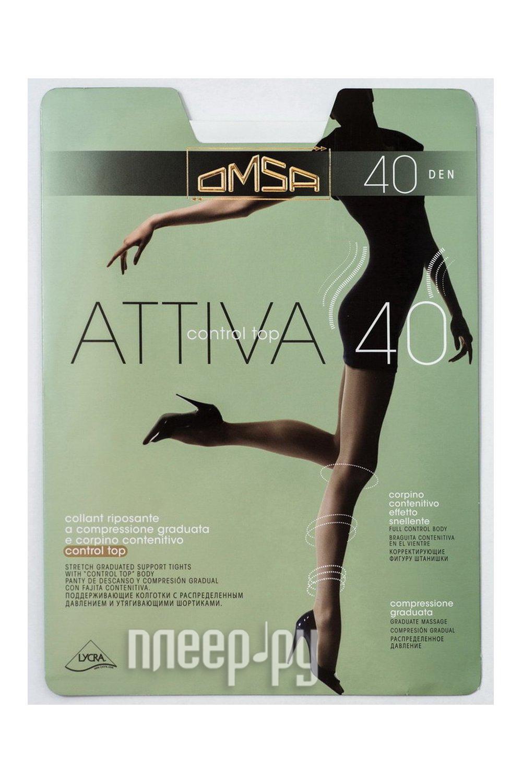 Колготки OMSA Attiva Control Top размер 4 плотность 40 Den Daino купить