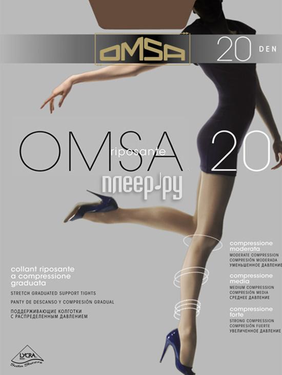 Колготки OMSA размер 3 плотность 20 Den Daino