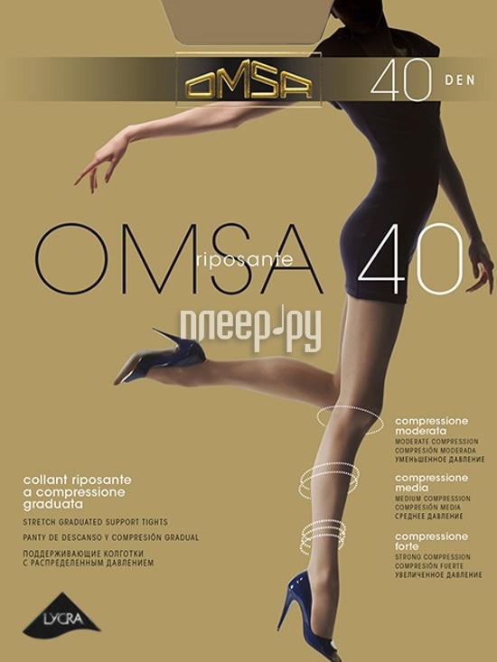 Колготки OMSA размер 4 плотность 40 Den Caramello купить
