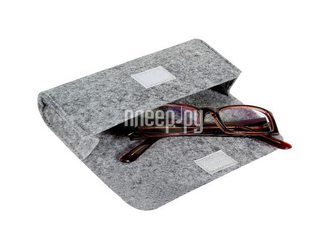 Гаджет IQ Format чехол для очков на липучке Grey