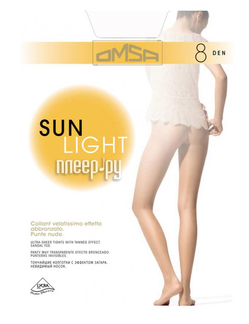 Колготки OMSA Sun Light размер 4 плотность 8 Den Sierra