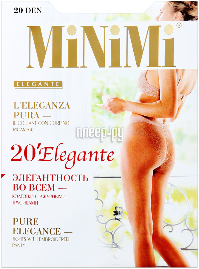 Колготки MiNiMi Elegante размер 4 плотность 20 Den Daino