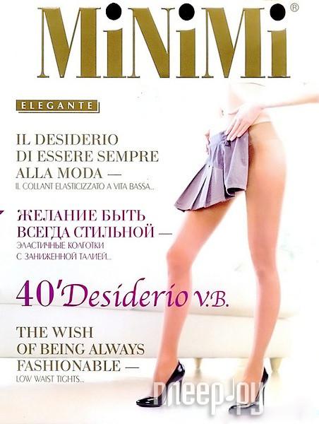 Колготки MiNiMi Desiderio размер 2 плотность 40 Den V.B. Daino за 173 рублей