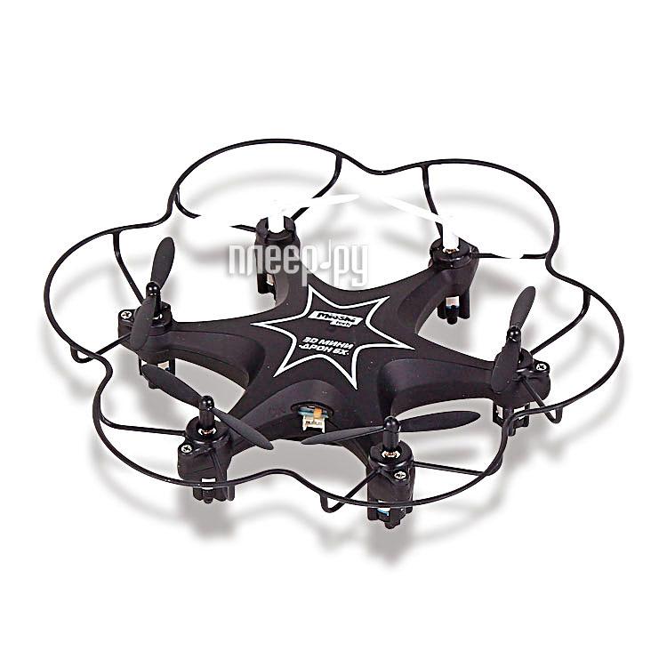 Квадрокоптер Mioshi Tech 3D Мини-дрон 6Х Black MTE1209-021