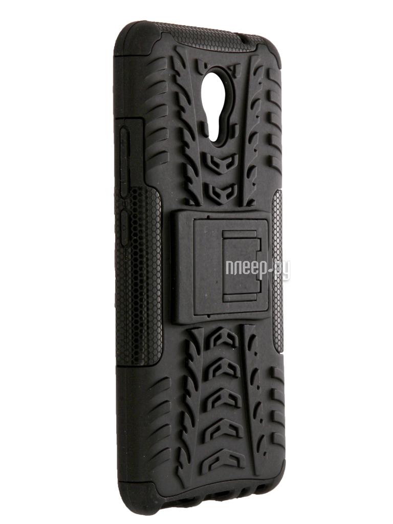 Аксессуар Чехол-накладка Meizu M5 Note SkinBox Defender Case Black T-S-M5N-06