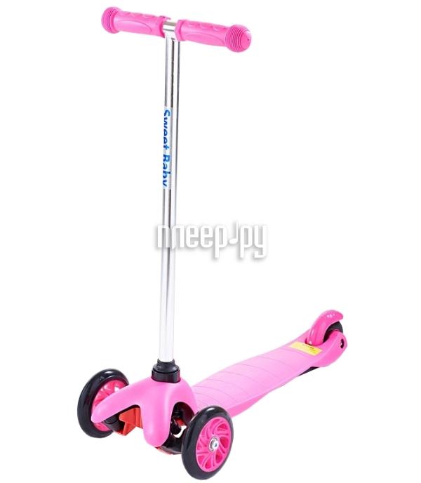 Самокат Sweet Baby Bright Pink 314063