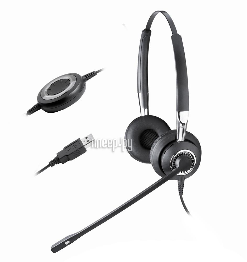 Гарнитура Jabra BIZ 2400 USB Duo Lync with Bluetooth 2499-823-104