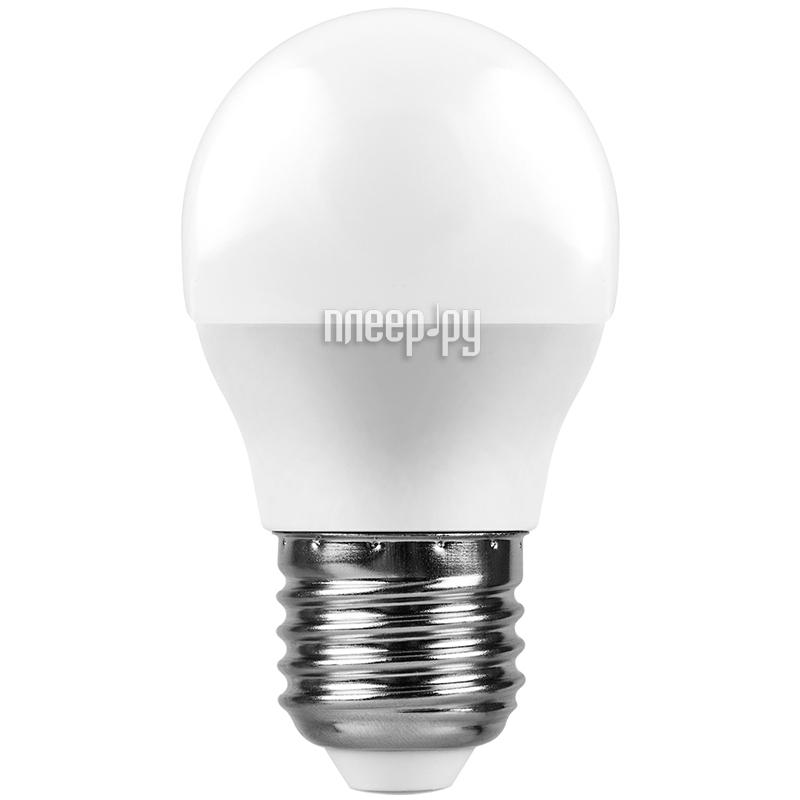 Лампочка Feron LB-550 9W 230V E27 4000K G45 25805