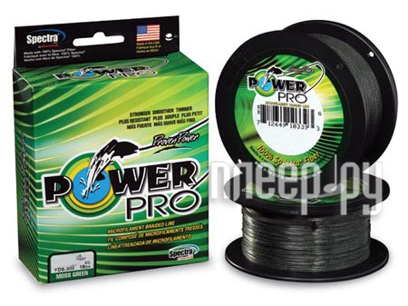 Шнур плетёный Power Pro 0.23mm 92m Moss Green PP092MGR023