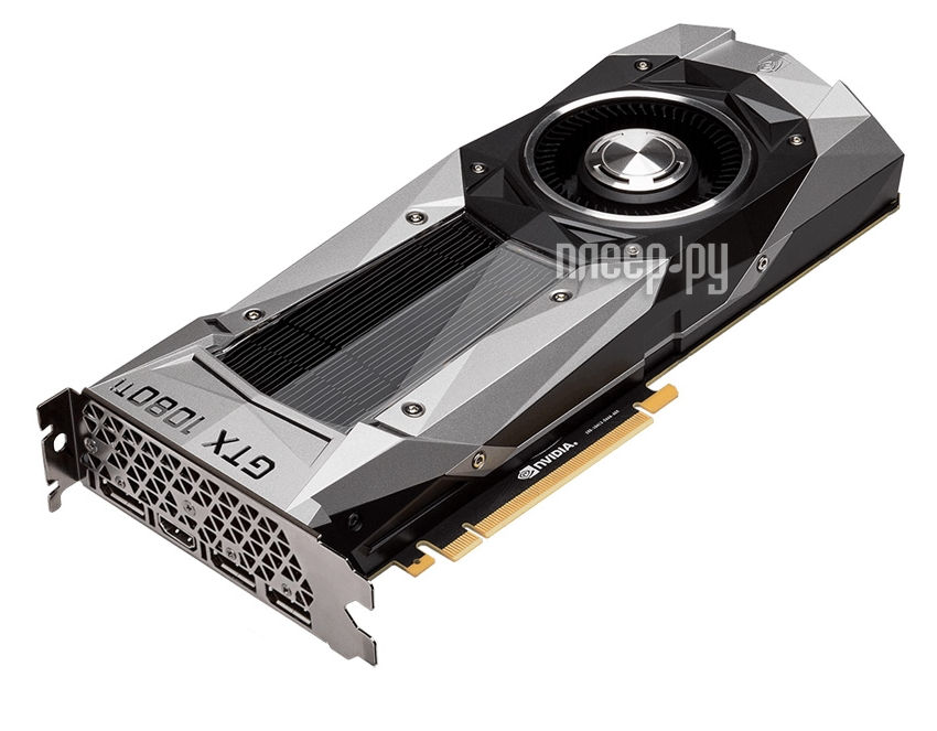 Видеокарта Inno3D GeForce GTX 1080 Ti 1480Mhz PCI-E 3.0 11264Mb 11010Mhz 352 bit HDMI HDCP Founders Edition N108T-1DDN-Q6MO