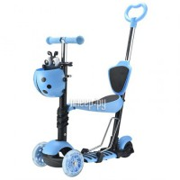 Самокат Novatrack Disco-Kids 120 Light Blue 120SB.DISCOKIDS.BL7