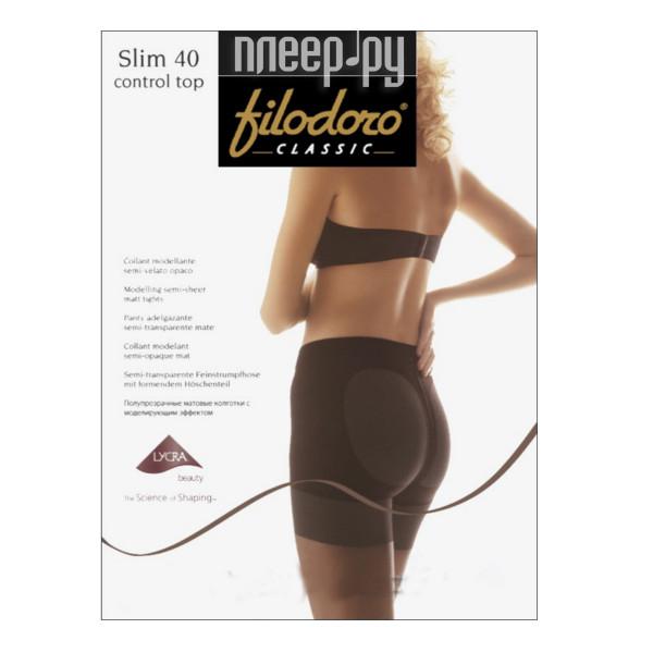 Колготки Filodoro Slim Control Top размер 2 плотность 40 Den Playa