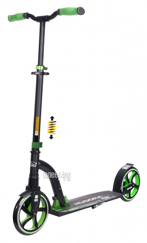 Самокат Hudora Big Wheel Flex 200 New Green купить