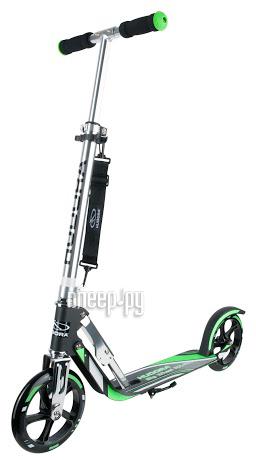Самокат Hudora Big Wheel RX-Pro 205 New Black-Green