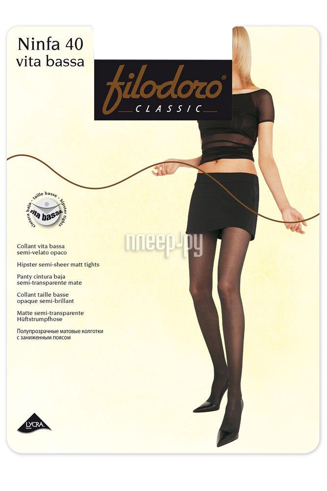 Колготки Filodoro Ninfa размер 3 плотность 40 Den Vita Bassa Cognac за 203 рублей