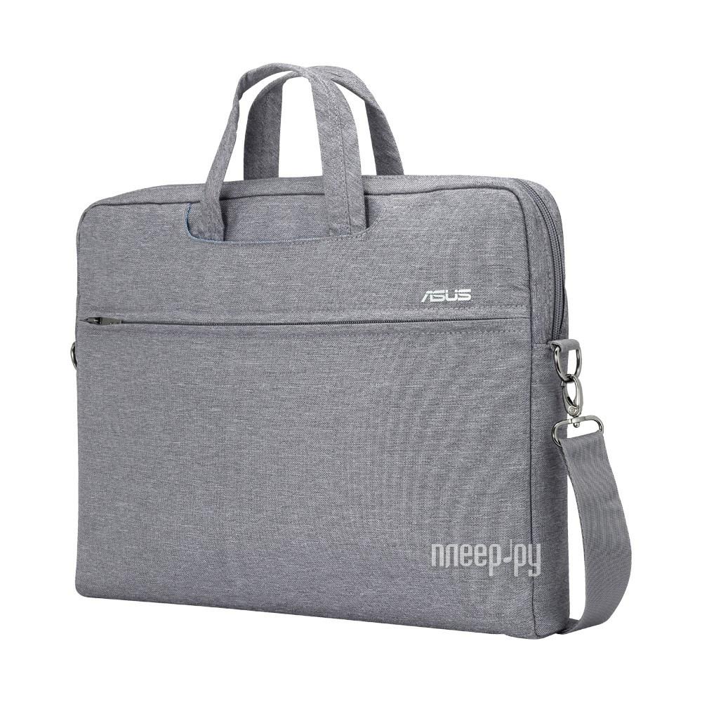 Аксессуар Сумка 16.0-inch ASUS EOS Carry Bag Grey 90XB01D0-BBA040
