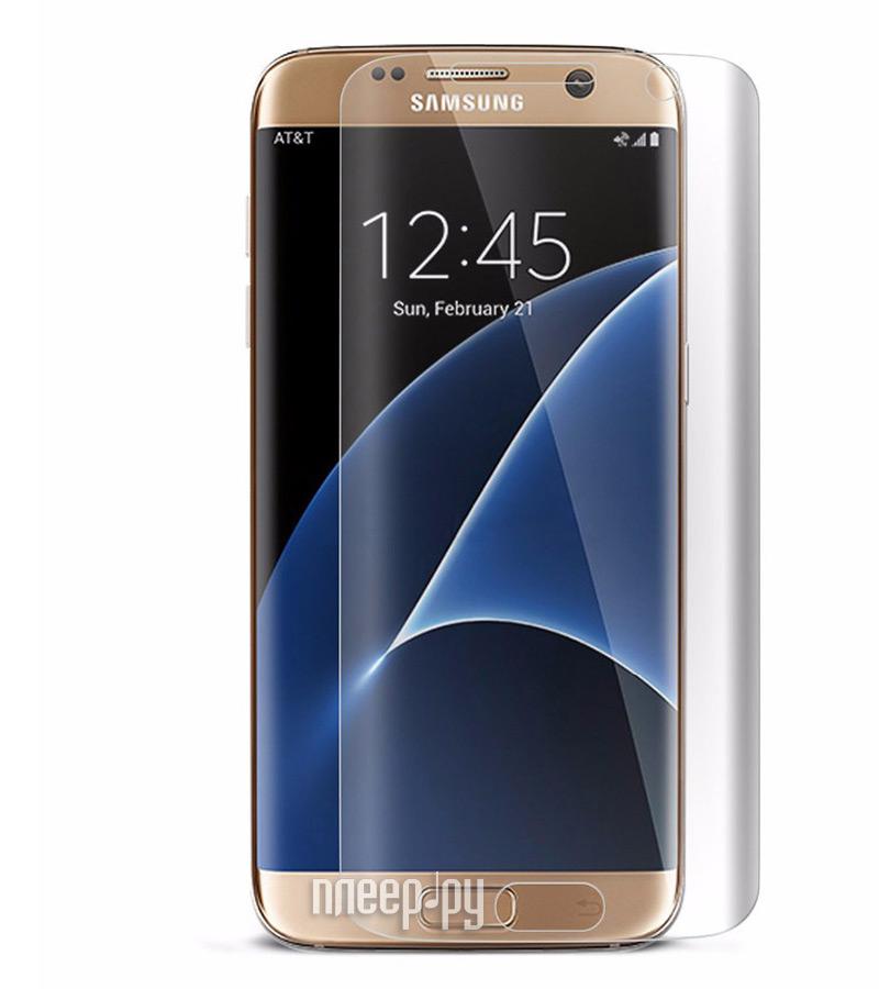 Аксессуар Защитное стекло Samsung Galaxy S6 Edge Solomon 3D Transparent