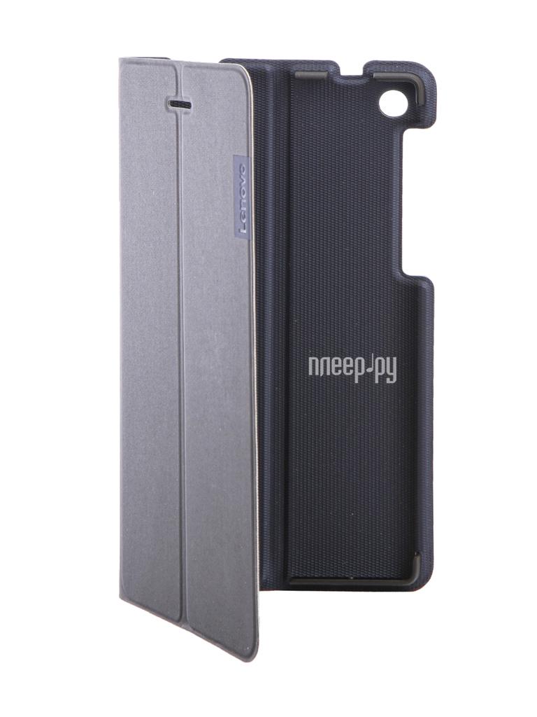 Аксессуар Чехол Lenovo Tab 3 730 Folio Case and Film Black ZG38C01046