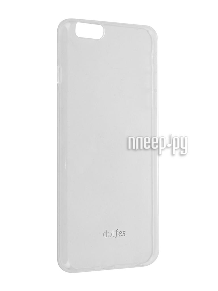 Аксессуар Чехол Dotfes G04 Ultra Slim TPU Case для APPLE iPhone 6 Plus / 6s Plus Transparent 47071