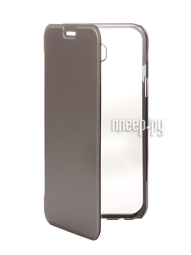 Аксессуар Чехол Samsung Galaxy A7 2017 Muvit Folio Stand Case Metallic MLFLC0017