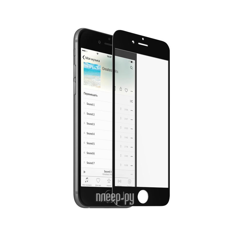 Аксессуар Защитное стекло Mobius 3D Full Cover для APPLE iPhone 6 / 6S Black