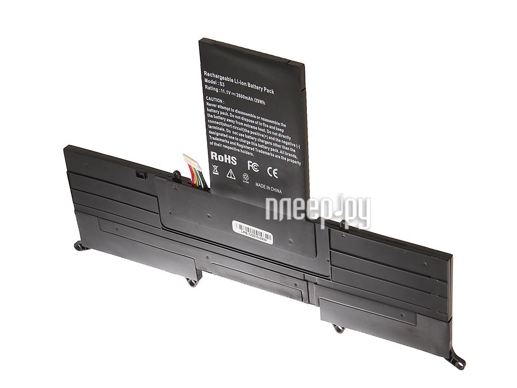 Аккумулятор 4parts LPB-S3 для Acer S3-391/S3-951 Ultrabook 11.1V 2600mAh AP11D3F/AP11D4F