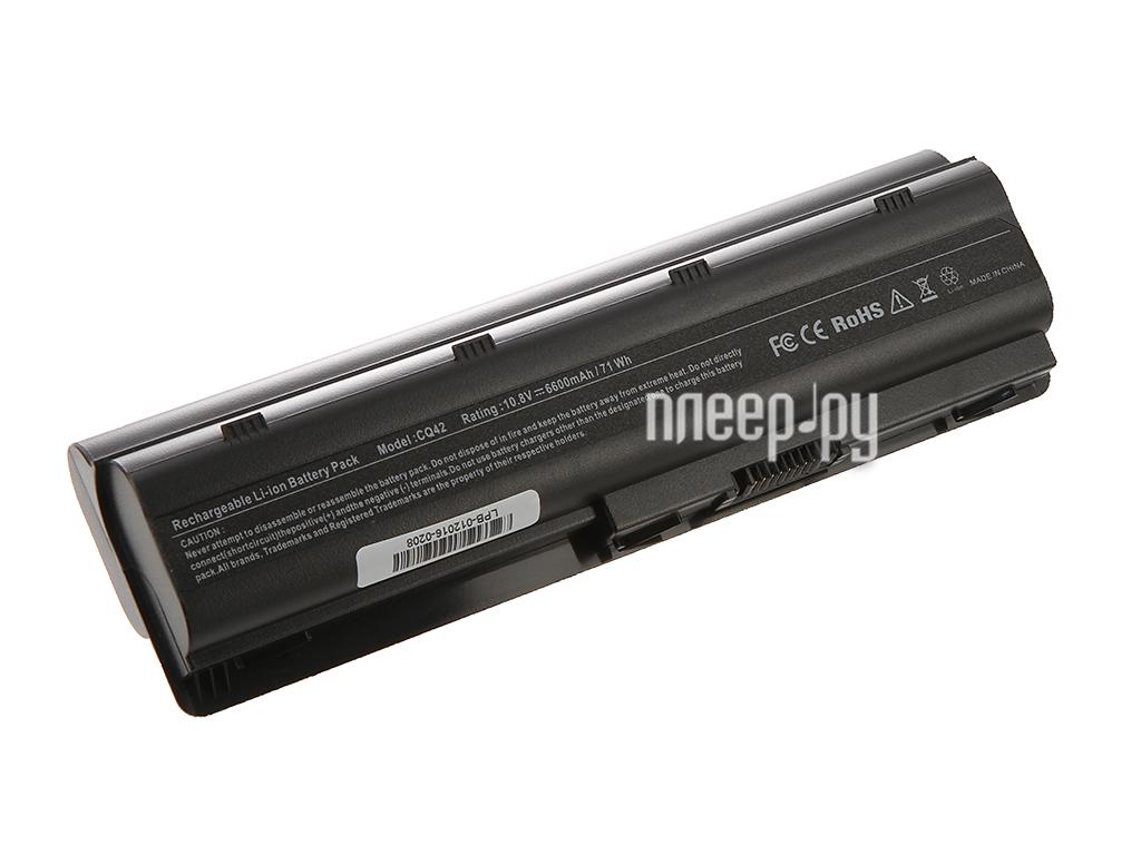 Аккумулятор 4parts LPB-DV3H для HP Pavilion DM4/DV3/DV5-2000/DV6/DV7/G6/G7/G42/G62/G72 Envy 17 Presario CQ32/CQ42 11.1V 6600mA
