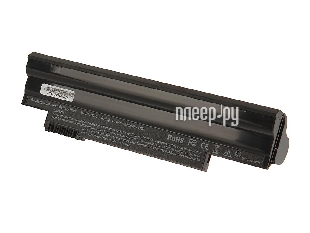 Аккумулятор 4parts LPB-522 для Acer Aspire One D255/D260/522/722 Happy Happy2 Gateway LT25 Series 11.1V 4400mAh AL1