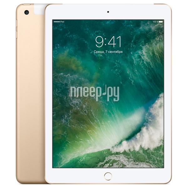Планшет APPLE iPad 2017 9.7 Wi-Fi + Cellular 128Gb Gold MPG52RU / A