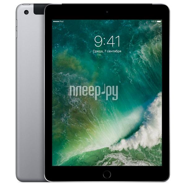Планшет APPLE iPad 2017 9.7 Wi-Fi + Cellular 32Gb Space Grey MP1J2RU / A